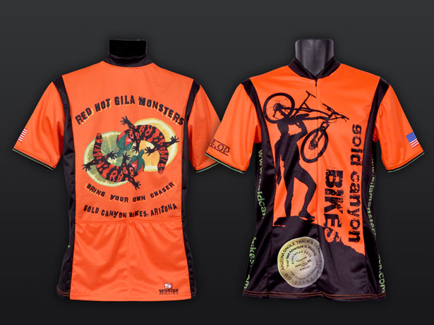 Gold Canyon Biking Jerseys
